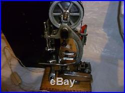 Steam engine band saw model vintage
