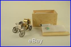 Steam engine car, live steam, steam, FREE shipping! Gift