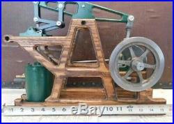 Steam engine model vintage steam engine walking beam engine working steam engine