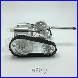 Stirling Engine Car Tank External Gas Micro Generator Car Steam Model Engine Toy