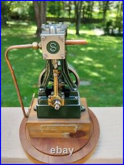 Stuart Live Steam Engine #10 Runs Great
