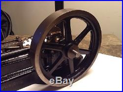 Stuart S50 Steam Engine / Mill Engine Antique