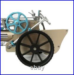 Teching DM34 Steam Car Model Stirling Engine Full Metal Model Toy