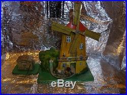 Tin Toy Steam Engine Windmill Flywheel Motor Live Steam