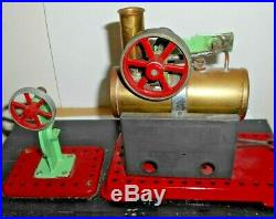 Toy Model Large Steam Engine With A Mamod Operating Press