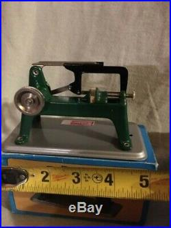 Toy Steam Engine collection with Original Box and accessories, near mint cond