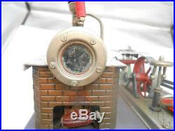 Toy steam engine by Wilesco