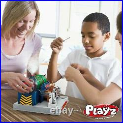 Train Steam Engine Model Kit to Build for Kids with Real Steam, STEM Science Ki