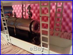 Tucher & Walther Dampfmaschine Live Steam Engine Tin Toy Vapeur Vapore