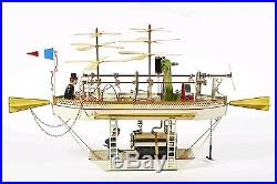 Tucher & Walther T 461 Dampfmaschine Live Steam Engine Tin Toy Vapeur Vapore