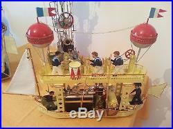 Tucher & Walther lot of 3 Dampfmaschine Live Steam Engine Tin Toy Vapeur Vapore