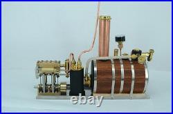 Twin Cylinder Marine Steam Engine With Horizontal boiler+ Tank Q3B