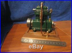 Twin Cylinder Model Steam Engine. Live Steam