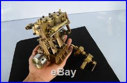 Twin Cylinder Vertical Steam Engine RC Reversing