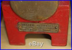 Two Vintage Toy Weeden No. 647 and 648 Steam Engine