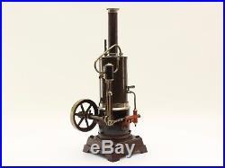 Upright steam engine Bing Falk Plank EP12 uralt hand painted Germany 1930