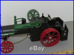 VINTAGE 116 J. I. CASE STEAM ENGINE Tractor Farm Toy Scale Models Die-Cast