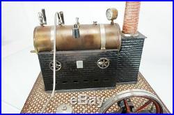 Vintage 1900's German Ernest Plank Large Live Steam Engine Toy Dampfmaschine
