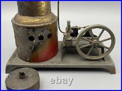 VINTAGE 1900's WEEDEN VERTICAL STEAM ENGINE NO. 123