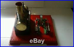VINTAGE 1960s BOXED WORKING MAMOD SE3 TWIN CYLINDER MODEL STEAM ENGINE