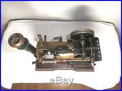 VINTAGE BING PREWAR GERMAN LIQUID FUEL STEAM ENGINE TOY