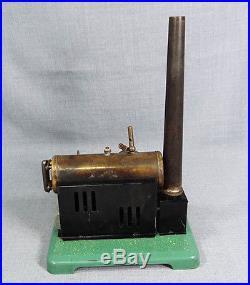 Vintage Czech Igla Ites Live Steam Engine Boiler Model Tin Toy Fleishmann Copy