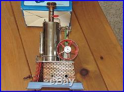 VINTAGE DAMPFMASCHINE WILESCO D45 STEAM ENGINE + D61 + D62 ACCESSORIES with BOXES