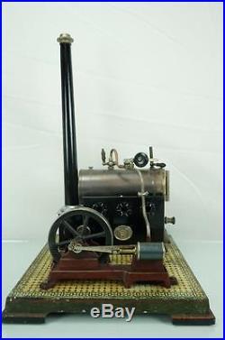 Vintage Early 1900's German Ernest Plank Live Steam Engine Toy Dampfmaschine