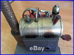 VINTAGE EARLY WILESCO LIVE STEAM ENGINE MADE IN GERMANY