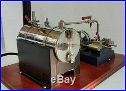 Vintage Electric Jensen Style 20 Steam Engine # 55 Rare Twin Pistons