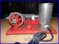 Vintage Empire Steam Engine Toy Electric