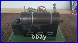 VINTAGE Fleischmann Steam Engine Model Made in West Germany