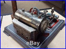 Vintage German Toy Steam Engine Plant Wow