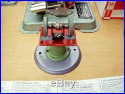 VINTAGE JENSEN DRY FUEL FIRED STEAM ENGINE BOILER TIN TOY WithWILESCO ACCESSORIES