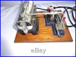 Vintage Jensen Mfg Co Toy Steam Engine # 25 Electric Cord 450 Watt