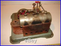 VINTAGE JENSEN MODEL STYLE 65 Live Steam Engine POWER PLANT METAL TOY RARE