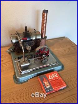 VINTAGE JENSEN Toy MODEL STYLE 65 Live Steam Engine POWER PLANT withFuel