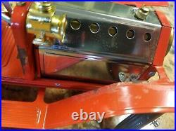 VINTAGE MAMOD FE1 Steam Engine Fire Ladder Truck NEW