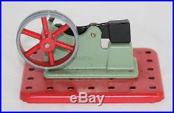 Vintage Mamod Minor 1 Toy Steam Engine With Power Hammer Accessory