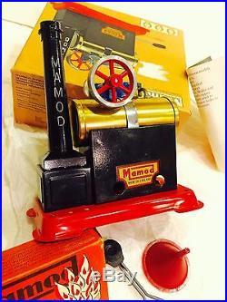 Vintage Mamod Model Sp-1 Horizontal Steam Engine Never Used Orig Box ++++