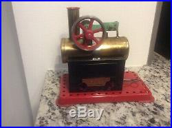 VINTAGE MAMOD TOY STEAM ENGINE MADE IN ENGLAND 8 1/4 x 7 1/4 x 6 1/2 BEAUTY