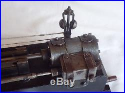 VINTAGE OLD ANTIQUE LIVE STEAM ENGINE WITH FLYBALL GOVERNOR