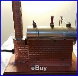 VINTAGE RARE JENSEN #5 working Steam Engine 115 volt 450 watt