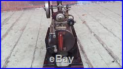 VINTAGE SCHOENNER 141F LIVE STEAM ENGINE FALK