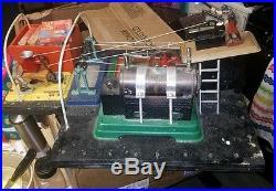 VINTAGE STEAM ENGINE & Accessories vintage fuel unused 5 in all platform awesome