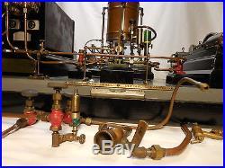 Vintage Stuart Live Steam Engine Plant Toy, Old Electric Motor, Distillery