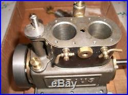 VINTAGE Stuart Sirius Steam Engine Machined Toy Model Made United Kingdom