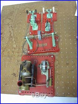Vintage Tin Mamod Steam Engine Toy & More