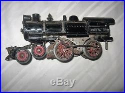 Vintage Toy Cast Iron Train Steam Engine Ives N0. 1125 Antique Old Early Nr