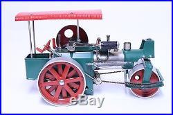 VINTAGE UNUSED WILESCO OLD SMOKEY STEAM ENGINE STEAM ROLLER TOY